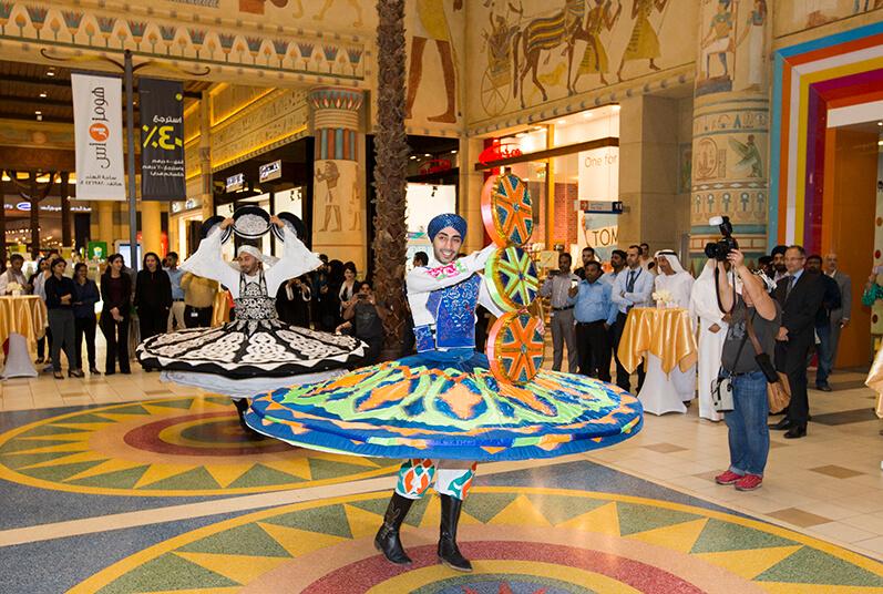 interior desgin in ibn battuta mall