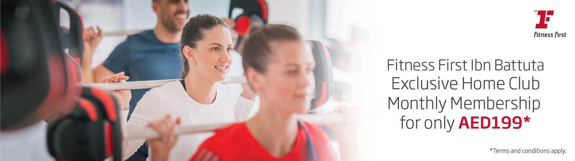 Fitness First Offer | Ibn Battuta Mall